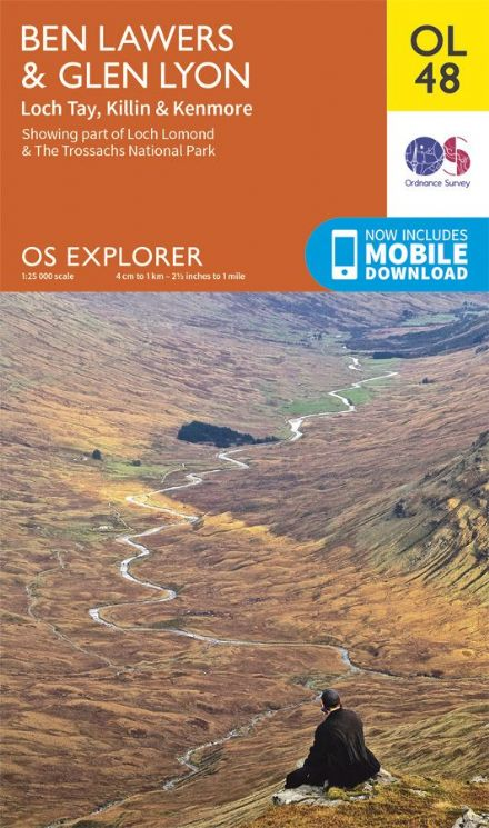 OS Explorer OL 48 Ben Lawers & Glen Lyon